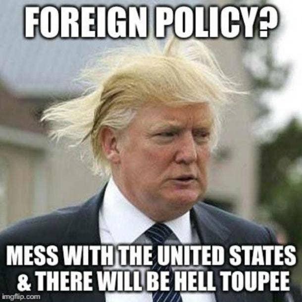 Best Donald Trump Toupee Meme
