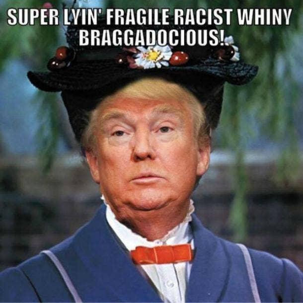 funny Donald Trump meme : Mary Poppins
