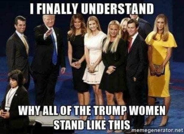 funny Donald Trump pussy meme
