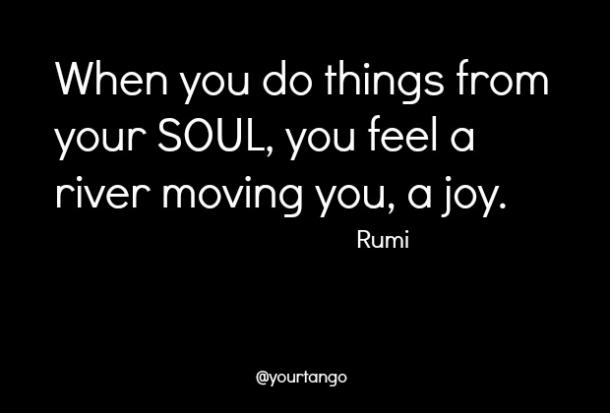 rumi quote on happiness