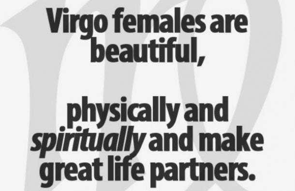 Virgo beauty