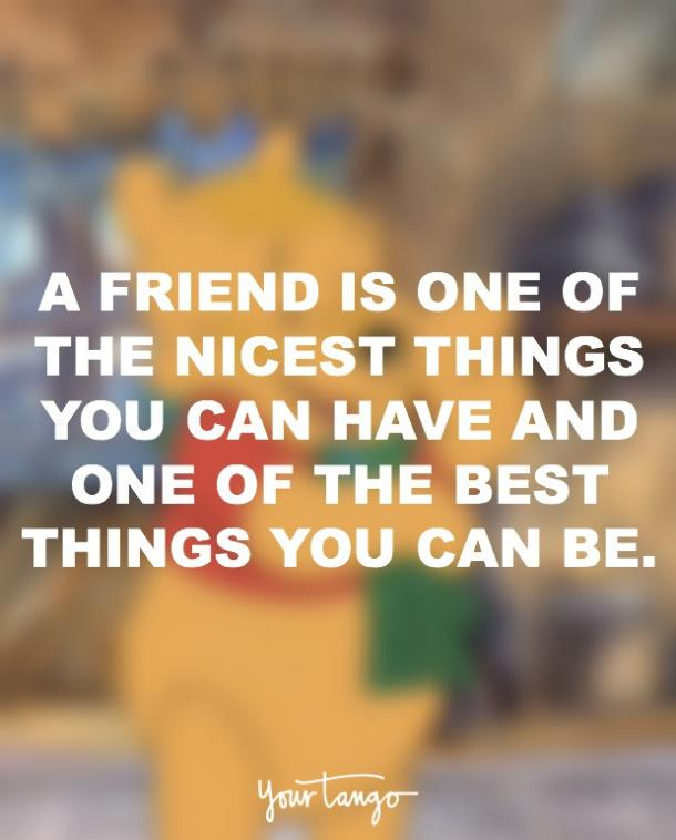 60 Simple But Profound Winnie The Pooh Friendship Quotes YourTango Mesmerizing Winnie The Pooh Quote About Friendship