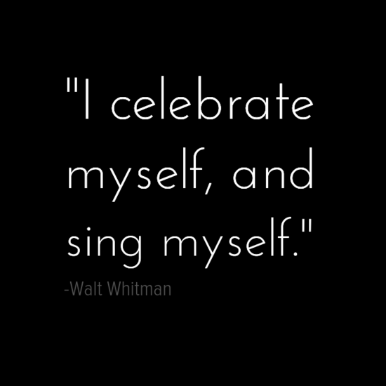walt whitman quote about being single