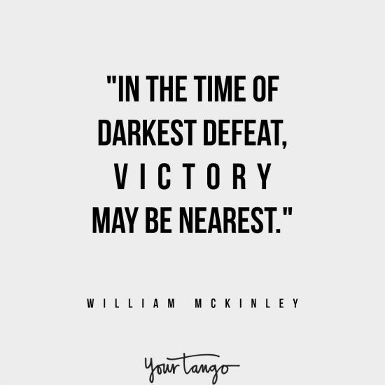 William McKinley inspirational president quotes