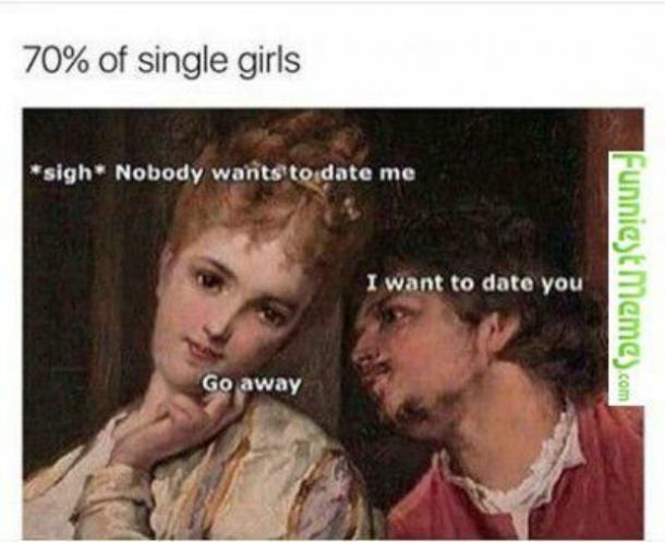 memes about never finding love