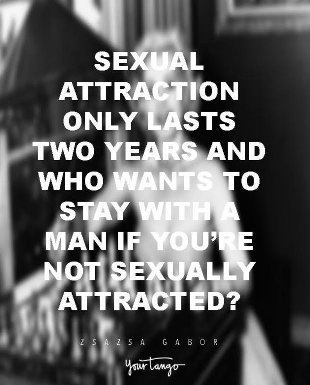 Sexual attraction quote