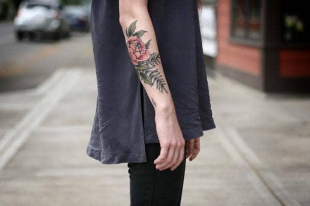 Alice Carrier Naturalistic Unique Tattoo