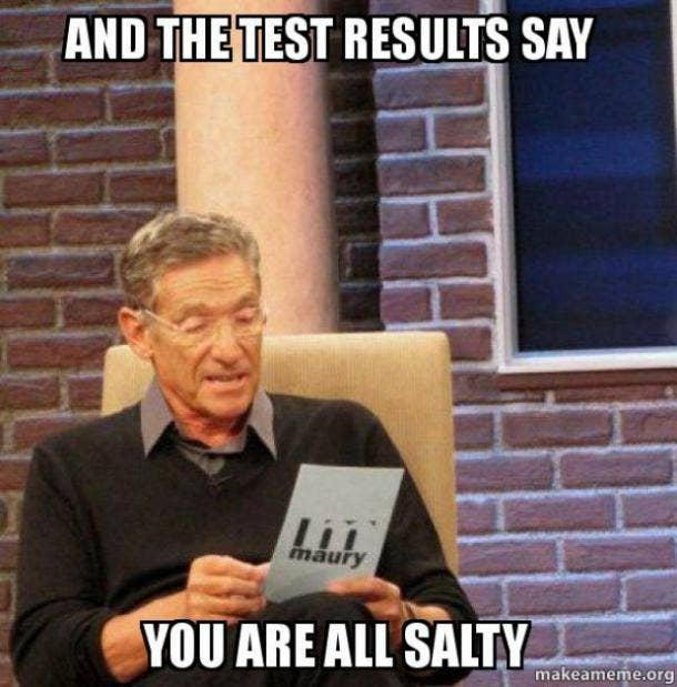 salty slang