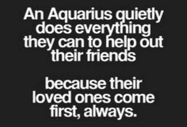 Aquarius friends