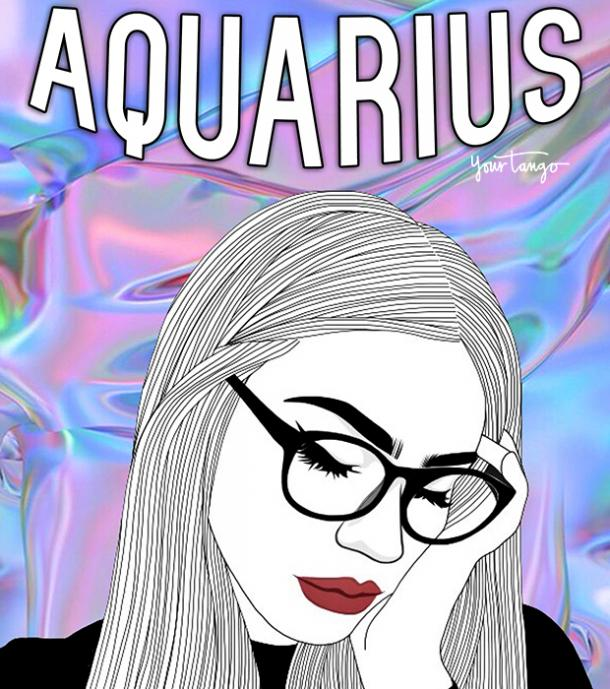 Aquarius zodiac signs staying in touch with friends