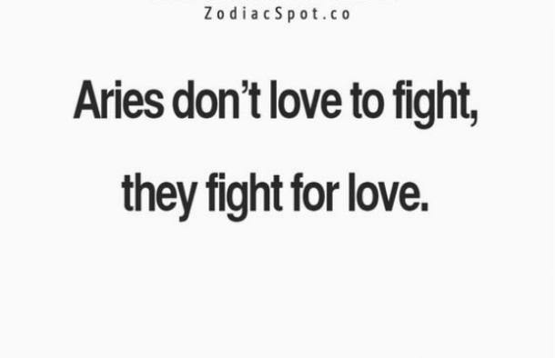 aries fights