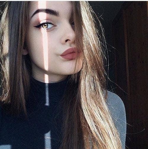 11. When you wear lipstick