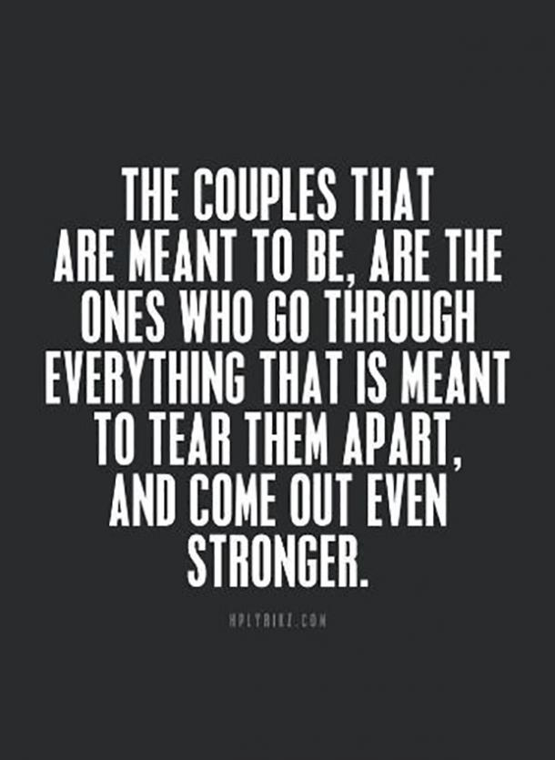 20 Love Quotes To Remind You To Stay Together When Times Get Tough