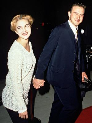 """<a href=""""http://www.usmagazine.com/celebrity-news/pictures/drew-barrymores-love-life-2012212/20950"""">5. Drew Barrymore and David Arquette</a>"""