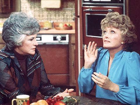 "Bea Arthur and Rue McClanahan on ""Maude"""