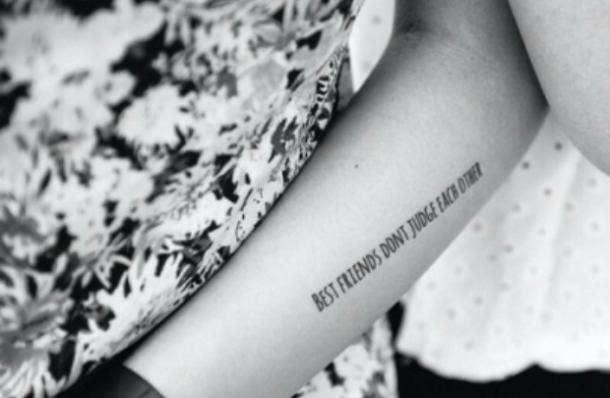 best friend tattoo friendship quotes