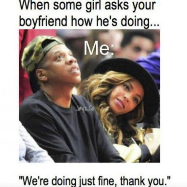 FUNNY Beyonce Cheating Meme Jay-Z