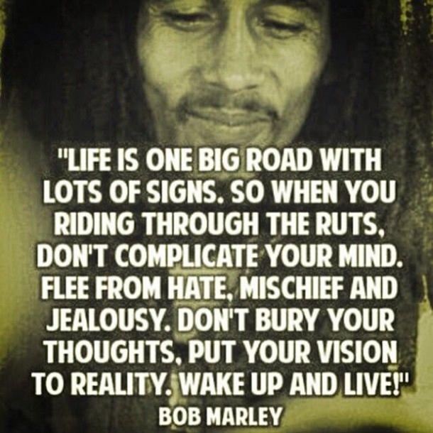 Bob Marley Quotes about strength