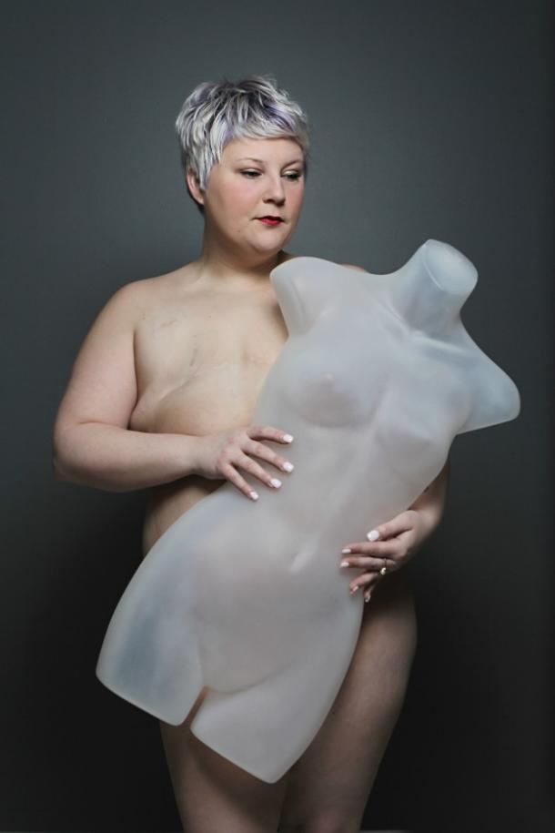 nude photo women mannequin series body image