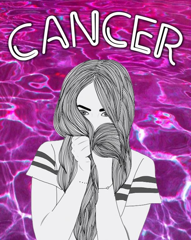 is my girlfriend crazy cancer zodiac sign
