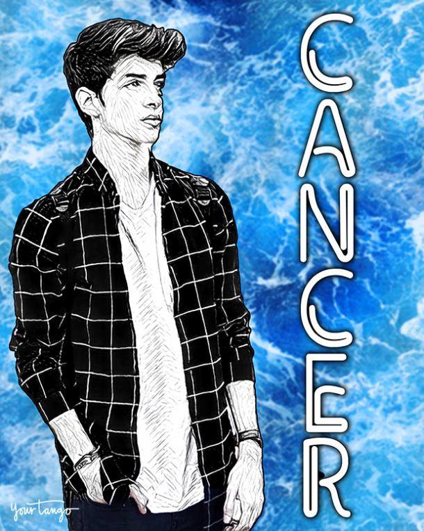Cancer Zodiac sign how to get his attention
