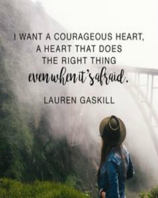 Best Strength Quotes About Courage Over Fear