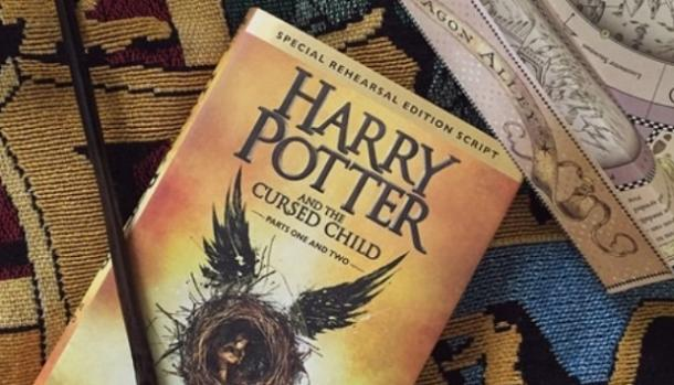 Harry Potter and the Cursed Child script play