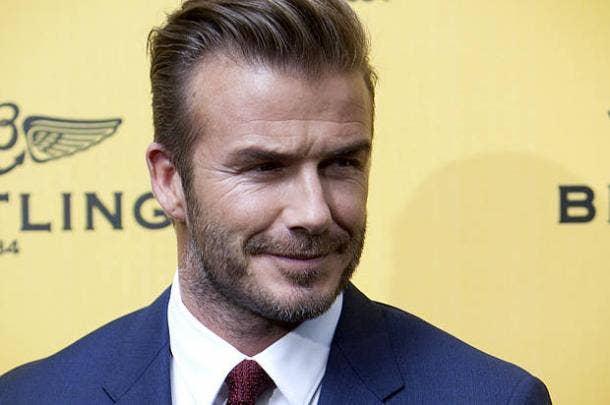 David Beckham Beard