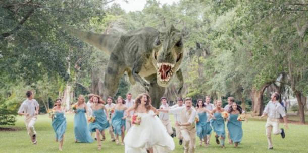 """<a href=""""http://weheartit.com/entry/121695131/search?context_type=search&context_user=forgetitandmoveon&query=dinosaur+wedding"""">weheartit.com</a>"""