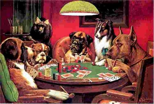 """<a href=""""http://frontpagemag.com/2013/dgreenfield/illegal-amnesty-border-security-trigger-is-a-commission/78847-dogs-dogs-playing-poker/"""">frontpagemag.com</a>"""