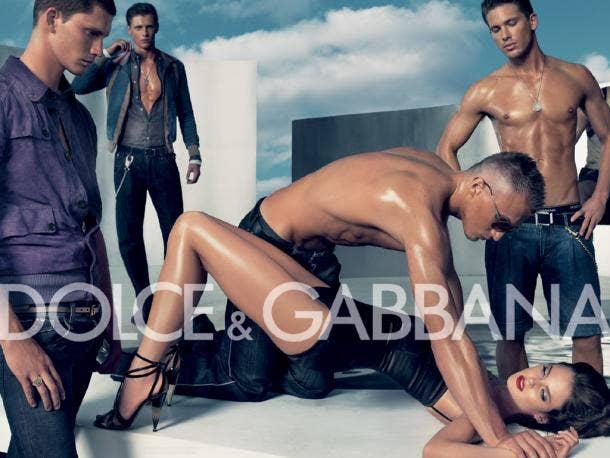 Dolce & Gabbana rape ad