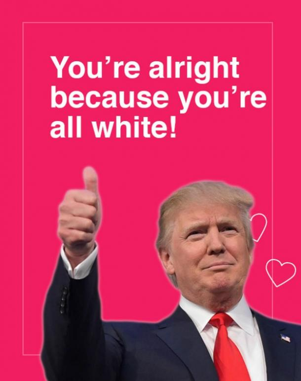 14 Donald Trump Digital Valentine's Day Cards And Funny Memes | YourTango
