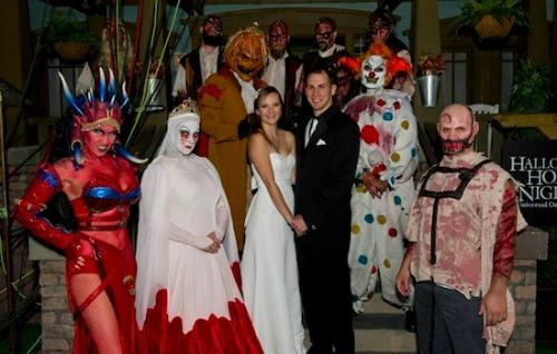 Horror wedding pictures