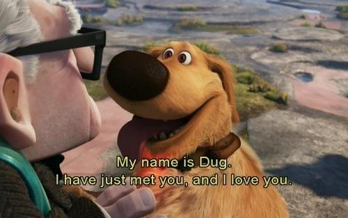 dug from up i love you