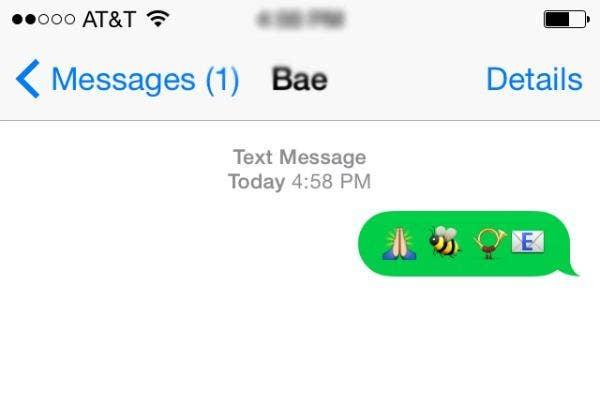 Please be horny in emojis