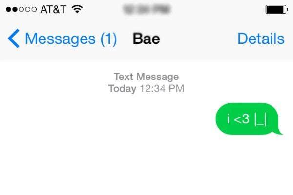 I love you in emojis