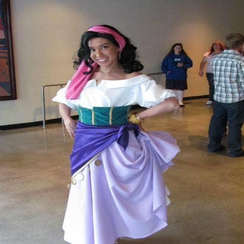 Esmeralda gypsy halloween costume