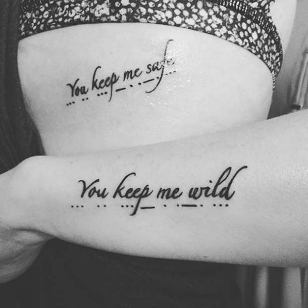 matching tattoo quotes sister quotes