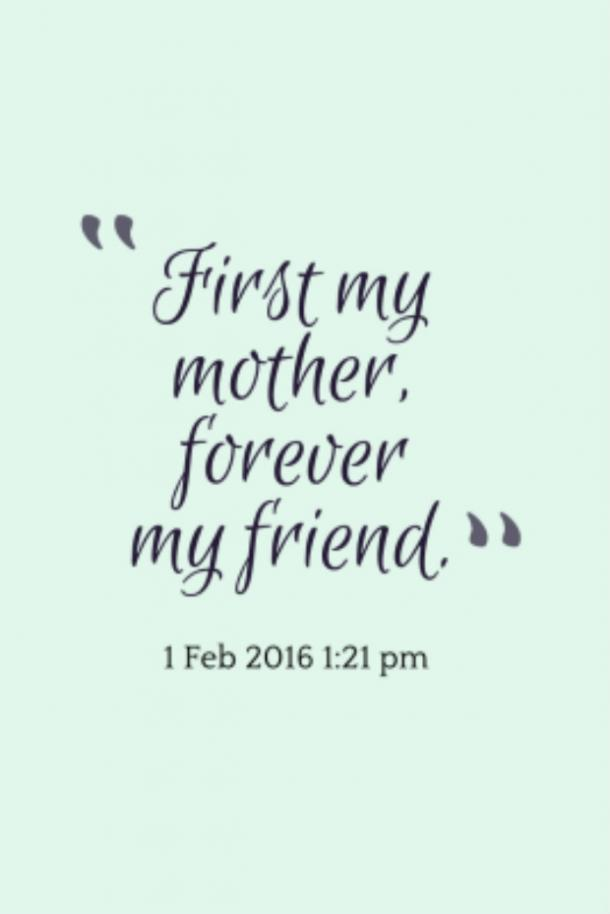 15 Best Mother Daughter Quotes For Mother\'s Day 2019 And ...