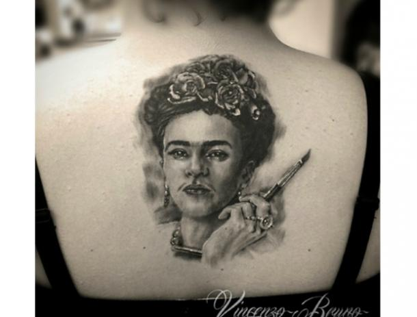 7122977fa 22 Badass Frida Kahlo Tattoos That Are Total Pieces Of Art | YourTango