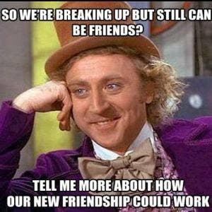 Hook up with friends ex girlfriend