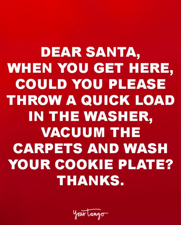 Best Funny Quotes Christmas Grinch. Dear Santa ...
