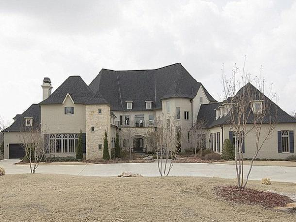 Trisha Yearwood & Garth Brooks' Oklahoma Mansion