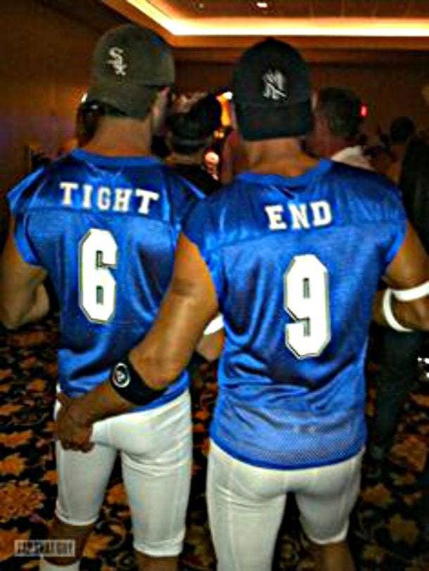 quarterback couple costume