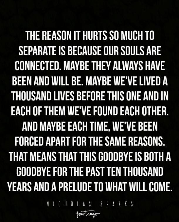 Saying Goodbye Quotes 15 Sad Quotes That Describe The Pain Of Saying Goodbye | YourTango Saying Goodbye Quotes