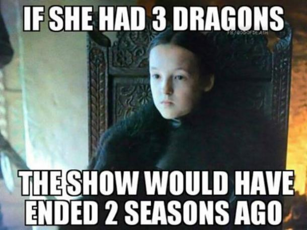 Game of Thrones dragon Meme