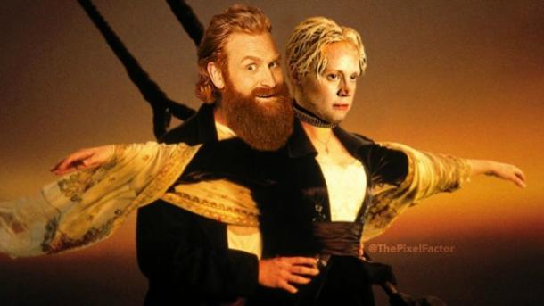 Tormund and Brienne meme GoT
