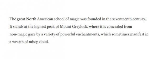 Ilvermorny American magic school Fantastic Beasts