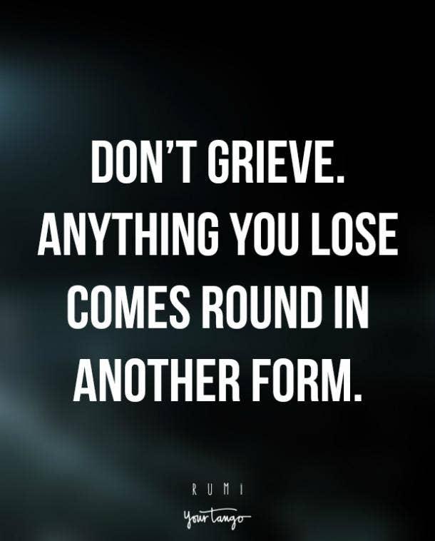 losing a child quotes rumi