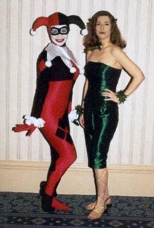 Lesbian in costume